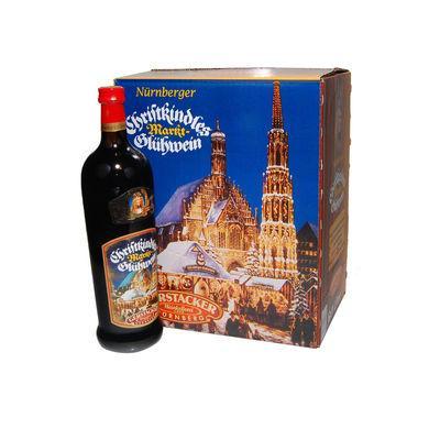 Nürnbergi palackozott forralt bor.
